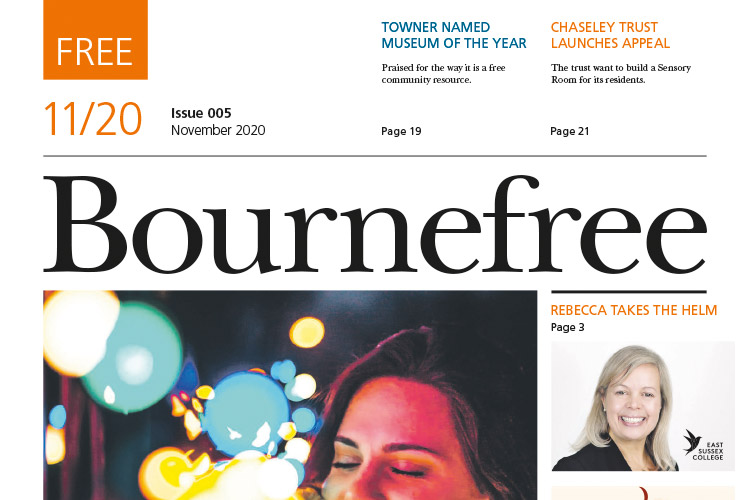 Bournefree November Issue cover image on Bournefree Live news website