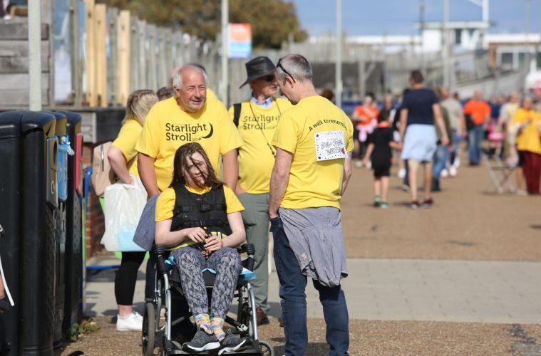 St Wilfrid's Hospice Starlight Stroll on Bournefree website