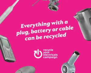 Kerbside scheme helps residents recycle unwanted small electricals in Wealden on eastbourne Bournefree magazine