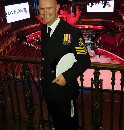 Chief Petty Officer Naval Nurse Andrew Cooper makes New Year's Honours list on Eastbourne Bournefree magazine website