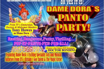 Dame Dora's Panto Party cancelled 'with great sadness', Hailsham, on Eastbourne Bournefree website