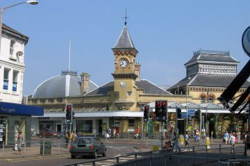 Eastbourne train services affected by Storm Bella on Bournefree website