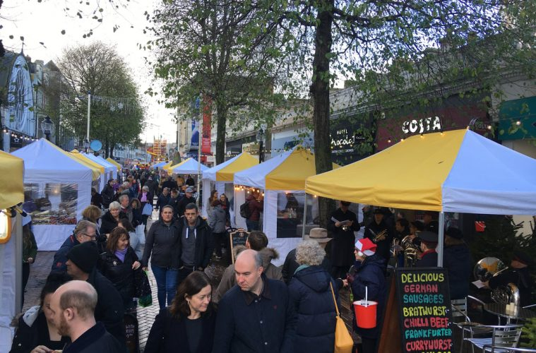 Eastbourne's four day Christmas Market starts today 'Covid secure' on Bournefree website