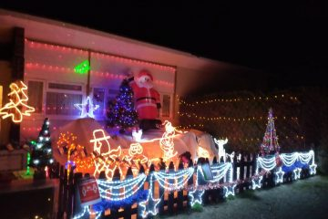 Pevensey Bay family raising money for RNLI with Christmas lights on Eastbourne Bournefree website