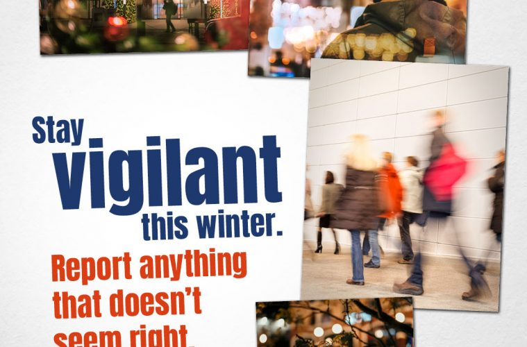 Police reminder for counter-terrorism awareness over festive season on Eastbourne Bournefree website