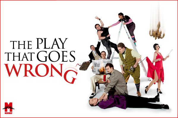 The Play That Goes Wrong cancelled for January on Eastbourne Bournefree website