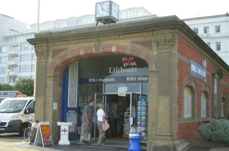 The RNLI shop on the Wish Tower slopes will reopen on Wednesday 2nd December on Eastbourne Bournefree website
