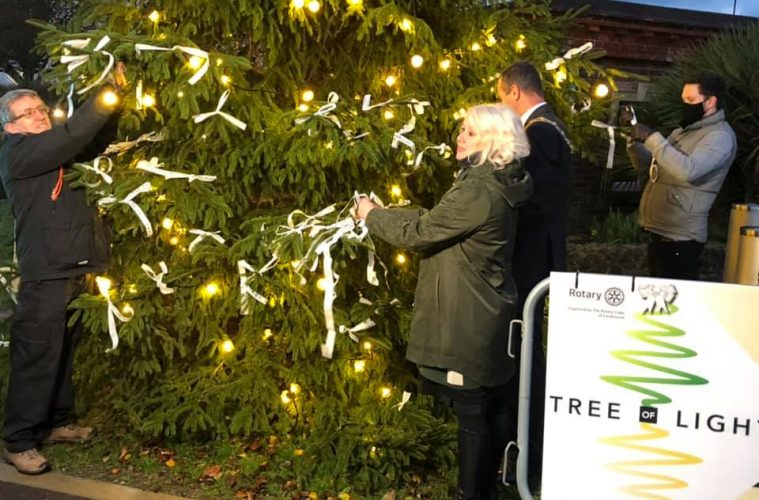 Watch Eastbourne's annual Tree of Light service on Bournefree website