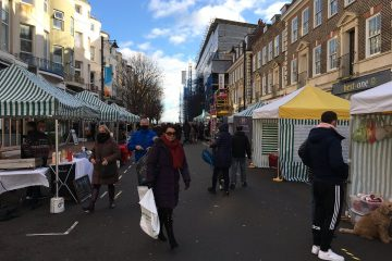 Victoria Place Eastbourne's Christmas Day was huge success on Eastbourne Bournefree website