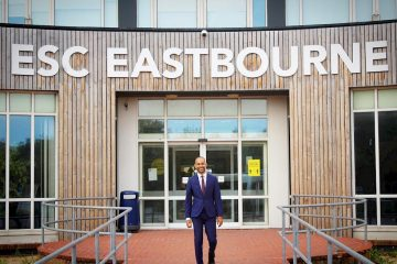 Josh Babarinde joins Board at East Sussex College on Bournefree website for Eastbourne