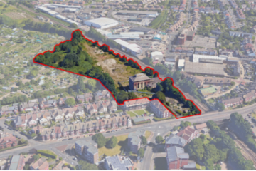proposed housing scheme at Bedfordwell Road on Eastbourne Bournefree website