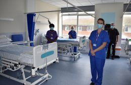 Newly refurbished 26 bed ward has opened at Eastbourne DGH on Eastbourne Bournefree website
