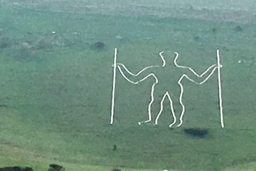 Long Man of Wilmington damaged in criminal attack on Eastbourne Bournefree website