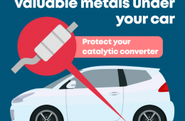 Eastbourne police issue warning on catalytic converter thefts on Bournefree website