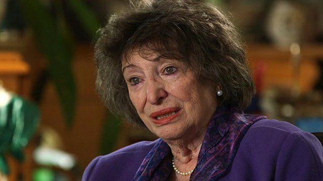 Holocaust survivor Dorit Oliver-Wolff BEM on Eastbourne Bournefree website