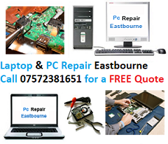 LaptopRepair Eastbourne is offering free laptops for children on Eastbourne Bournefree magazine