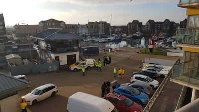 Sovereign Harbour residents react to migrants drama on Eastbourne Bournefree website