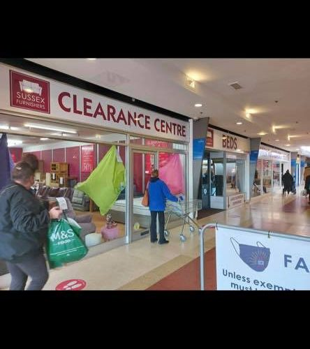 Eastbourne furniture shop announces expansion in Langney Shopping Centre on the Eastbourne Bournefree website