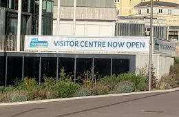 The Welcome Visitor Centre next to the Congress Theatre is planned to be used as a vaccination centre on Eastbourne Bournefree website