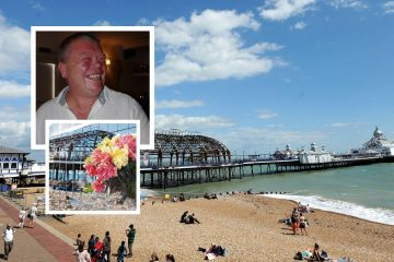 Eastbourne Pier death: Two accused over Stephen Penrice fall on Eastbourne Bournefree website