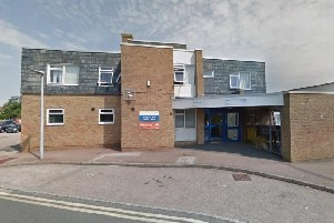 'Long queue outside Hampden Park Health Centre' and 'all very cramped inside' on Eastbourne Bournefree website