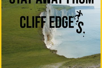 Utter madness as 'surge of visitors to the East Sussex chalk cliffs on Eastbourne Bournefree website