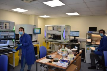 New Covid testing machines operational at Eastbourne DGH on Bournfree magazine