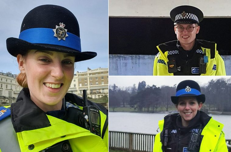 Meet the new PCSOs who went on the streets early to support the Covid response on Eastbourne Bournefree website
