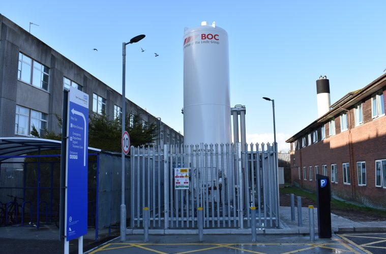Work to increase oxygen capacity at Eastbourne DGH completed on Eastbourne Bournefree website