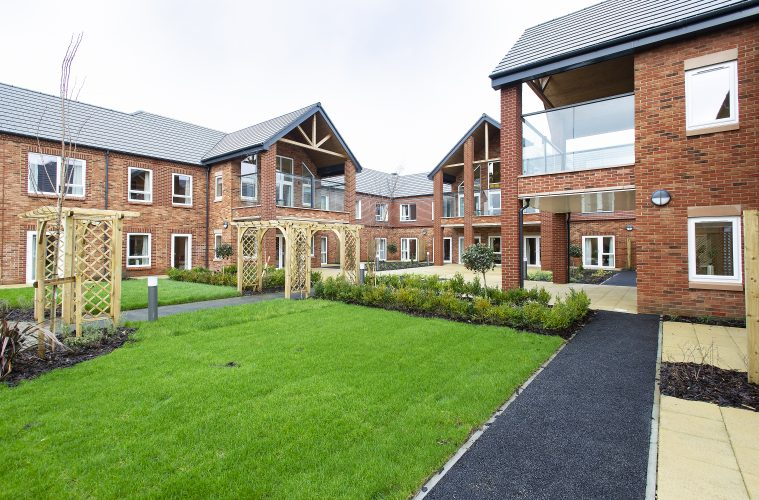 NEW LUXURY CARE HOME BECOMES COVID-19 VACCINE CENTRE,Abbots Wood Manor on Eastbourne Bournefree website