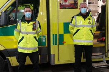 East Sussex firemen are driving ambulances during the pandemic on Eastbourne Bournefree website