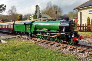 Eastbourne Miniature Steam Railway is reopening on Eastbourne Bournefree website