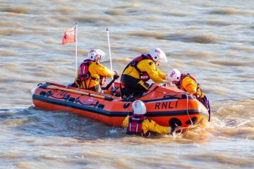 RNLI smashes £5,450 fundraiser to repair Eastbourne's inshore lifeboat on Eastbourne Bournefree website