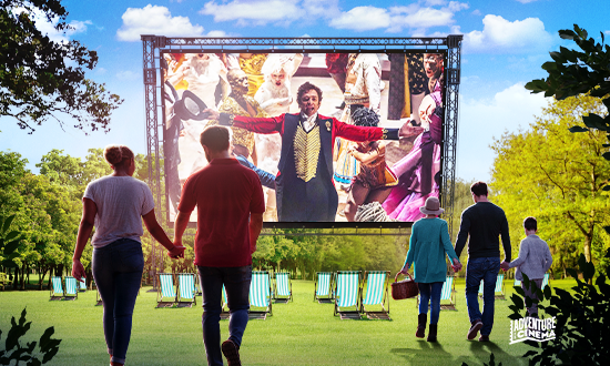 Outdoor cinema is coming to Gildredge Park in Eastbourne on Eastbourne Bournefree website