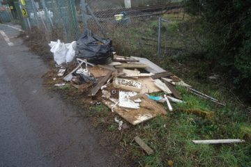 Rubbish dumped by level crossing 'could have caused major accident' on Eastbourne Bournefree website