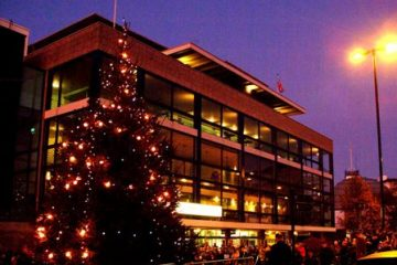 Eastbourne Tree of Light raises £8,100 for charities on Eastbourne Bournefree website