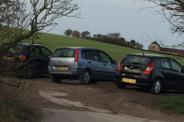 Alfriston: 300 per cent in 'illegal and inappropriate' parking on track on Eastbourne Bournefree website
