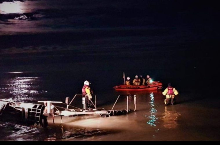 Eastbourne RNLI helps hunt for missing person along seafront in early hours on Eastbourne Bournefree website