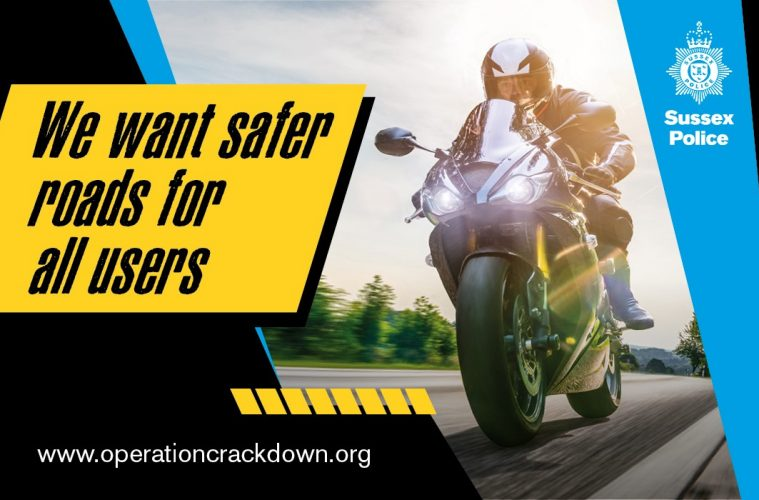 Motorcyclists reminded dangerous or antisocial riding will not be tolerated on Eastbourne Bournefree website