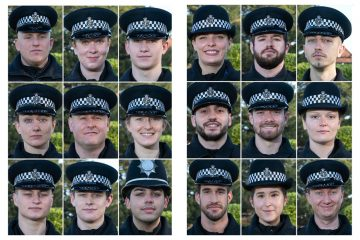 Meet the latest new officers to join Sussex Police on Eastbourne Bournefree website