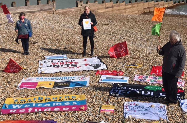 Successful Eastbourne Stand up to Racism launch on #World Against Racism Day on Eastbourne Bournefree website