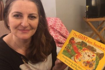 Caroline Ansell recorded reading the Giant Jam Sandwich for Motcombe children to mark World Book Day on Eastbourne Bournefree website