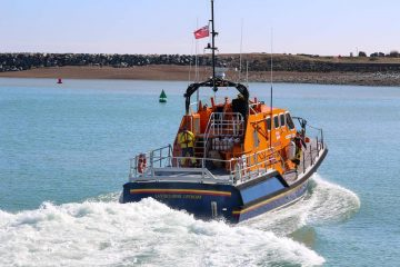 Eastbourne RNLI rescues three people in angling boat off Sovereign Harbour on Eastbourne Bournefree website