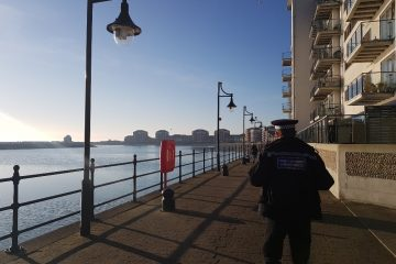 Eastbourne police step up patrols across Sovereign Harbour on Eastbourne Bournefree website