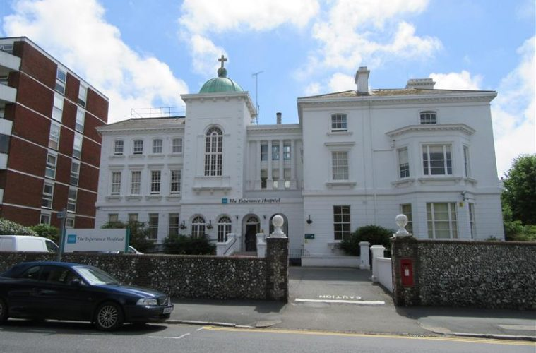 45 rented apartments to go on Eastbourne's Esperance Hospital site on Eastbourne Bournefree website
