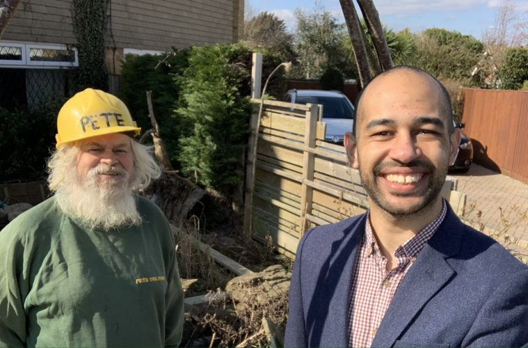 'PETE THE POND' TEAMS Josh Babarinde OBE UP WITH FORMER STUDENT TO CAMPAIGN TO SAVE HIS 'ECO GARDEN', on the Eastbourne Bournefree website,
