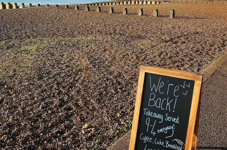 The Beach Deck on Eastbourne seafront reopens today on Eastbourne Bournefree website