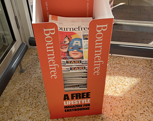 Bournefree's April edition will focus on opening and reopening of businesses on Eastbourne Bournefree website