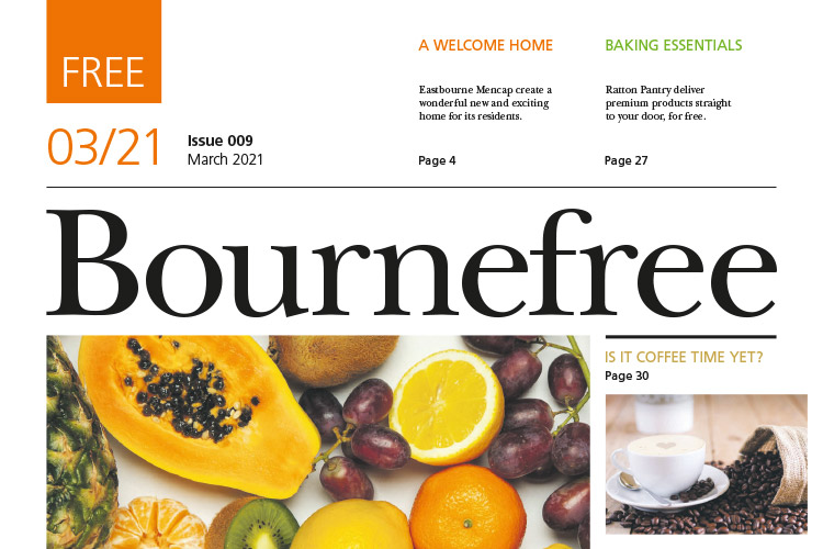 Bournefree March Issue on Bournefree Live news website