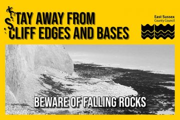 Keep away from our cliffs! Visitors urged to enjoy the East Sussex coast safely on Eastbourne Bournefree website